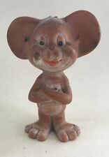 VINTAGE JERRY MOUSE RUBBER DOLL TOM AND JERRY HANNA BARBERA ARGENTINA 1962