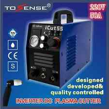 50A DC Inverter welder plasma cutter machine ICUT55 220V with all accessories