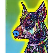 Doberman Print 8x10 by Dean Russo Discontinued - Ships Free
