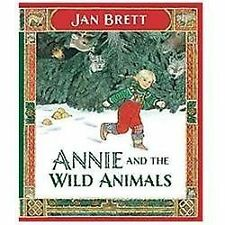 Annie and the Wild Animals by Jan Brett c2012 VGC Hardcover