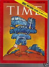 Time Magazine Inefficienty in America  1970