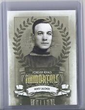 2012-13 IN THE GAME FOREVER RIVALS NEWSY LALONDE ITG IMMORTALS CANADIENS
