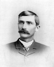 Old West Lawman PATRICK PAT GARRETT killed Billy the Kid Glossy 8x10 Photo Print