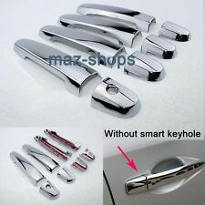10PCS CHROME DOOR HANDLE COVER TRIM MOLDING RAV 4 2011 FOR 2006~2012 TOYOTA RAV4
