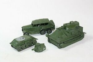 Dinky Group of Pre-war Military Vehicles for Restoration