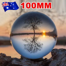 100mm Clear Crystal Healing Ball Photography Lens Ball Sphere Decoration