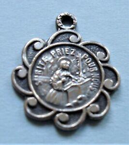 Pretty Vintage St Rita of Cascia Holy Medal