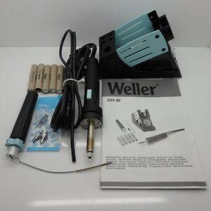 Weller Desoldering Iron and Safety Holder DXV 80