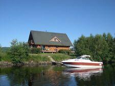 Biete Naturstamm-Blockhaus direkt am Annapolis River in NS Kanada