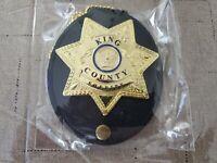 Bam Box  Walking  Dead Rick Grimes Movie Prop Badge.