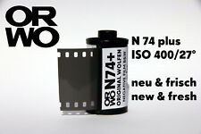 ORWO N74 plus Film • ISO 400 35mm NEW & FRESH FILM b/w Black & White Negativ 135