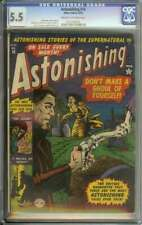 ASTONISHING #16 CGC 5.5 CR/OW PAGES