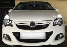 COOL BIANCO GHIACCIO Senza Errori DRL LAMPADINE Vauxhall Corsa 1.3 1.7 CDTI VXR SRI SXI