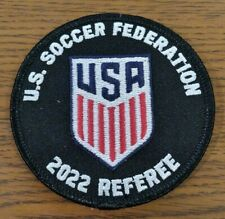 2022 US Soccer Federation - US Soccer - USSF Referee Badge Patch