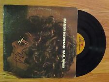 RANDY NEWMAN signed SAIL AWAY 1972 Record / Album COA Top 500 Rolling Stone