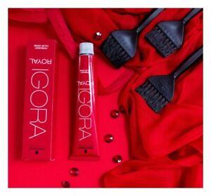SCHWARZKOPF Professional IGORA ROYAL Permanent Color Creme 60ml NEW *ALL SHADES*