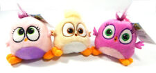 Lot of (3) Different ROVIO Angry Bird Hatchlings Clip-Ons ~ Pink