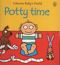 TOILET TRAINING - POTTY TIME - USBORNE BABY'S WORPBLD - BEAUTIFUL ALMOST NEW