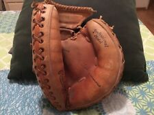 TED SIMMONS PROFESSIONAL MODEL GLOVE/8x ALl-STAR/CARDINALS,BREWERS,,BRAVES/SIMBA