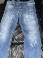 Diesel Slim Carrot Stretch Jeans. 33x32..Only Worn Twice..Perfect Condition