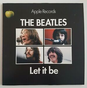 """THE BEATLES 2019 : LET IT BE ♦ UK 1970 (Remastered 7"""" by Sean Magee)"""