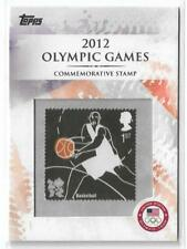 RARE 2012 TOPPS OLYMPIC STAMP CARD #CS-10 ~ BOXING ~ L@@K!!!
