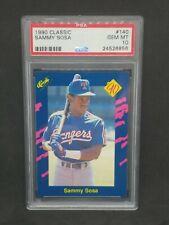 1990 Classic #140 Sammy Sosa RC Rookie Card Graded PSA 10 GEM MINT!