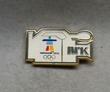 2010 VANCOUVER NRK NORWEGIAN BROADCASTING CORPORATION MEDIA OLYMPIC PIN