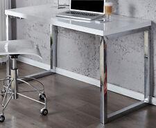Schreibtisch weiss Bürotisch FOKUS hochglanz 120cm x 60cm Laptop Tisch NEU