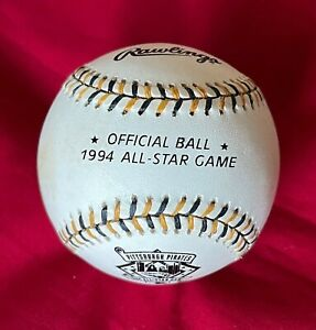1994 Rawlings All-Star Game baseball hosted by  Pittsburgh Pirates