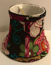 Retired Rare Vera Bradley Mid Floral Pink Mini Lamp Shade