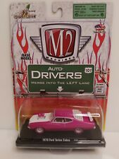 Rare M2 Machines Auto-Drivers 1970 Ford Torino Cobra Chase Pink 1 Of 500