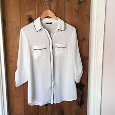 F&F White Shirt Size 8