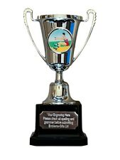 Long Jump Silver Moment Cup Award Trophy (D) ENGRAVED FREE