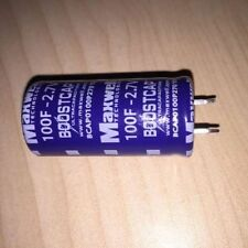 NEW 5pcs Super Capacitor 2.7V100F 22*45mm Farad Capacitor