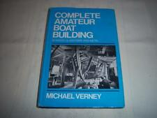 Complete Amateur Boat Building By Michael Verney Book