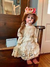 """Simon and Halbig 24"""" Antique German Bisque Doll"""