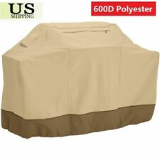 """Heavy Duty BBQ Grill Cover Gas Barbecue Outdoor Waterproof  30"""" to 72""""  Black"""