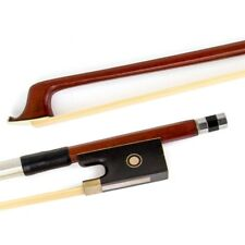 1 Pcs Parisian Eye Brazilwood Violin Bow Ebony Frog 4/4  Violin Parts