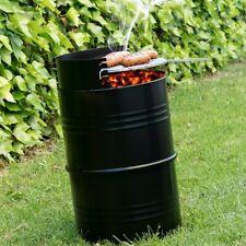 Barbacoa de hierro de carbon 36x62 cm,parrilla varios niveles de asar,jardín,etc