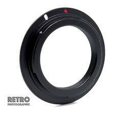 M42-EOS M42 Screw Fit Lens to Canon EOS EF Mount Adapter Ring No Flange UK Stock