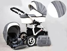 Kinderwagen whitelux, 2 in 1 kinderwagen,Buggy Carbon / Karbon