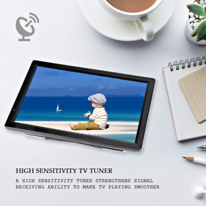 14 inch HD Portable TV Digital Analog HDMI Rechargeable Television Mini Car TV