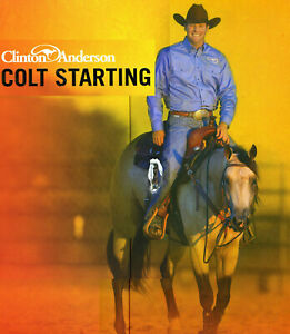 BOXED Clinton Anderson COLT STARTING Horse training SET 11 DVDS