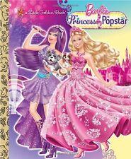 Princess and the Popstar Little Golden Book (Barbi