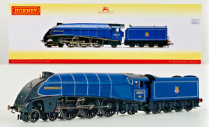 HORNBY 00 GAUGE - R3320 - BR BLUE CLASS A4 'GOLDEN EAGLE' 60023 - BOXED