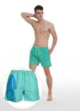 Men's Summer Temperature-Sensitive Color Changing Beach Pants Swim Trunks Shorts