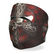 Black Red Celtic Cross Neoprene Full Face Mask Biker Ski Paintball Free Shipping