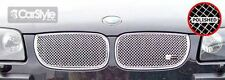 ZunSport BMW X3 2004-2006 Polished Steel Mesh Top Grille Set