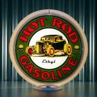 "Hot Rod Ethyl Gasoline 13.5"" Gas Pump Globe Lenses (1 Pair)"